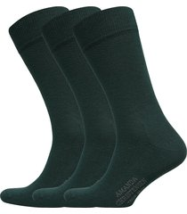 true ankle sock 3-pack underwear socks regular socks grön amanda christensen