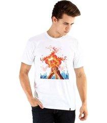 camiseta ouroboros manga curta basquete masculina