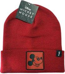 gorro rojo chelsea market mickey mouse licencia oficial