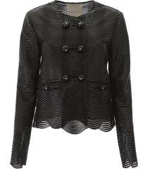 marco de vincenzo cropped jacket