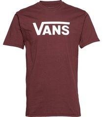 vans classic t-shirts short-sleeved röd vans