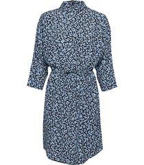 mash jurk knielengte blauw mbym