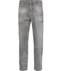 diesel madox distressed trousers - grey - size 28