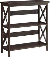 oxford 3 tier bookcase