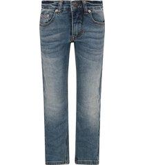 molo denim boy jeans with logo