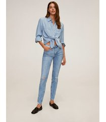 kim skinny push-up jeans