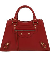 borsa donna a mano shopping in pelle neo classic small