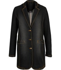 blazer in jeans (nero) - bpc bonprix collection