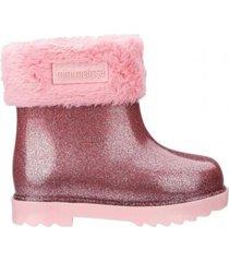 botas melissa rosa mini rain boot ii