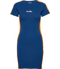 el rigi dress knälång klänning blå ellesse