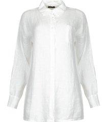 linnen blouse mina  wit