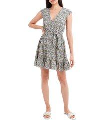 bcbgeneration floral-print woven mini dress