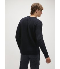maglione in misto cotone