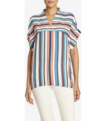 jones new york women's relaxed popover top