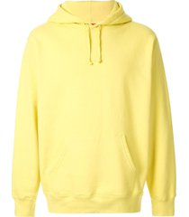 supreme illegal business controls america hoodie - yellow