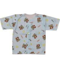 camiseta manga corta estampado koala naranja santana
