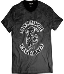 camiseta sons of anarchy motociclistas samcro - kanui