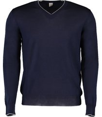 fine guage v-neck sweater