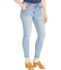 jeans pierna recta azul cielo liso curvi