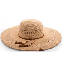 sombrero mujer beige maui and sons