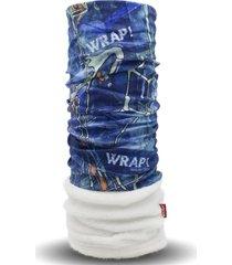 bandana attraction polar azul wild wrap