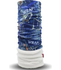 bandana attraction polar azul wild wrap