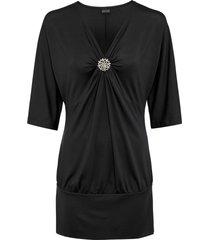maglia con spilla (nero) - bodyflirt