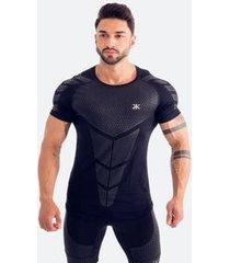 camiseta dry flexing black