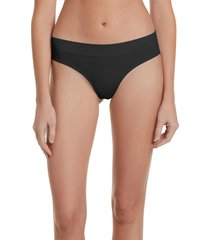 women's honeydew intimates bailey hipster panties, size small - black