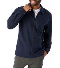men's 7 diamonds traveler slim fit jacket, size small - blue