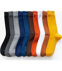 calcetines lisos super suaves para hombre