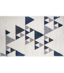 dywan dekoracyjny triangles blue 120x170