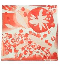 women's lafayette 148 new york print silk twill scarf