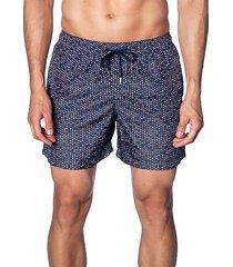 dot-print swim shorts