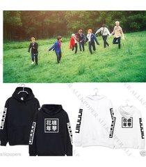 kpop bts cap hoodie sweater in bloom pt.2 hoody pullover jung kook jimin suga v
