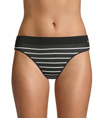 stripe logo thong