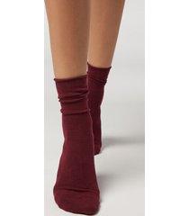 calzedonia non-elastic cotton ankle socks woman multicolor size 39-41