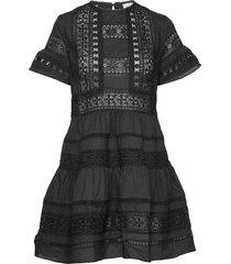 felice dress kort klänning svart by malina