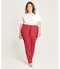 pantalon formal jogger unicolor