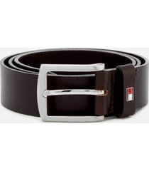 tommy hilfiger men's new denton belt 3.5 - testa di moro - 90cm/m - brown