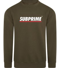 subprime sweater stripe army