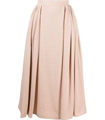 prada pleated mid-length dress