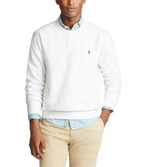 polo ralph lauren men's fleece crewneck sweatshirt