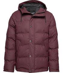 baffle jacket gevoerd jack paars tretorn