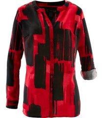 camicetta lunga fantasia (rosso) - bpc selection