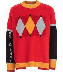 ballantyne sweater over w/written