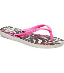 hav slim animals shoes summer shoes flip flops multi/mönstrad havaianas