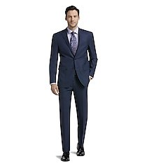 traveler collection slim fit mini check men's suit separate jacket - big & tall by jos. a. bank
