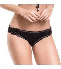 bottom (panty) coral negro
