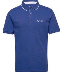 lari men's polo shirt polos short-sleeved blå halti